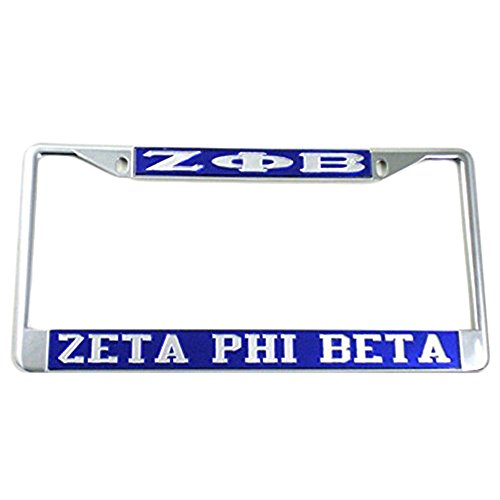 Greekgear Zeta Phi Beta License Plate Frame