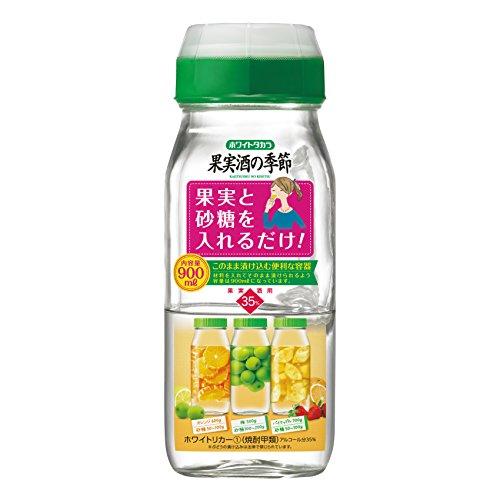 宝 35% 果実酒の季節900ml(1.8Lデカンタ) [ 焼酎 35度 ]
