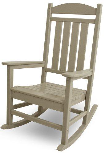 POLYWOOD R100SA Presidential Rocking Chair Sand