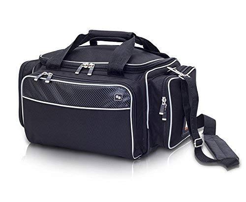 Elite Bags Medic´S Softbag-Arzttasche (blau & schwarz) inkl. Ampullarium! (schwarz)