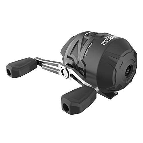 Zebco Roam Black Spincast Reel, ComfortGrip Rod Handle, Instant Anti-Reverse Fishing Reel, Size 30