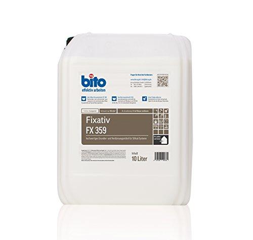 Profi Silikat Fixativ, 10 Liter, Grundierung und Verdünnung für Silikatfarben für innen und außen
