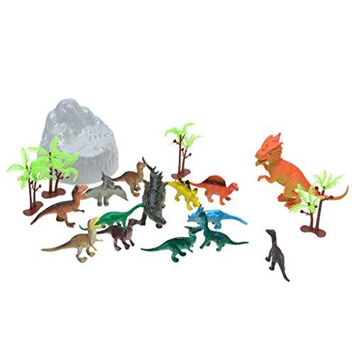 lahomia 19 Stück Plastik Dinosaurier...
