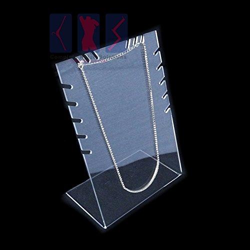 Complete Retail Solution Ltd Style-3 Ohrstecker, Acryl, Zähler, für Einzelhändler und Marktständer, luxuriös