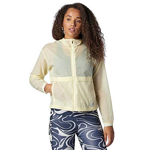 New Balance Impact Run Light Pack Jacket, Clear Yellow, X-Large