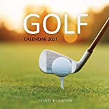 Golf Calendar 2021: 16 Month Calendar