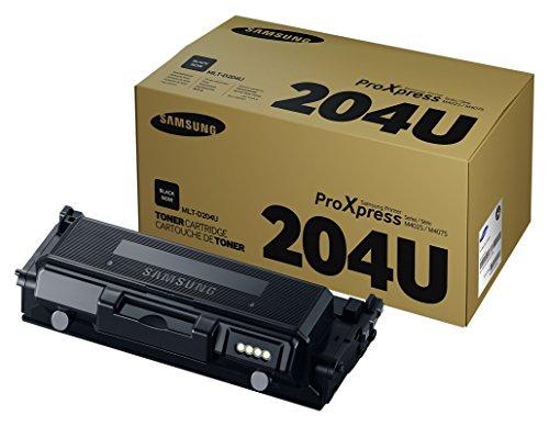 Samsung MLT-D204U/ELS Original Toner (Hohe Reichweite, Kompatibel mit: M4025/M4075) schwarz