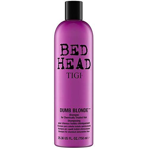 Dumb Blonde by TIGI Bed Head Shampoo for Damaged Blonde Hair 750ml