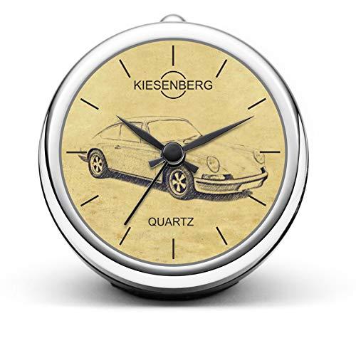 KIESENBERG Design Tischuhr Geschenke für Porsche 911 Urmodell Fan Uhr T-5376