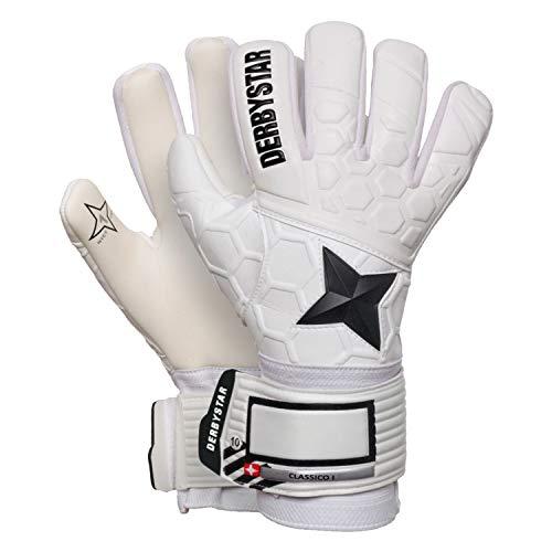 Derbystar Classico I Handschuhe Unisex, Weiss schwarz, 9