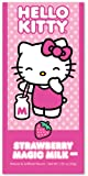Hello Kitty Beverage Mix, Strawberry Magic Milk Mixer, 5 Packets