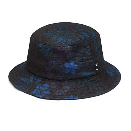 HUF Overdyed Floral Bucket Hat (Overdyed Floral, Small/Medium)