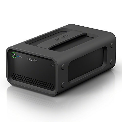 Sony 6TB Ruggedized HDD RAID Hard Drive with Thunderbolt 2, USB 3.0, Black...