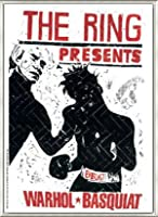 ポスター トーマス キルパー THE RING ウォーホル&バスキア 2000 額装品 アルミ製ベーシックフレーム(ライトブロンズ)