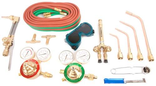 Forney 1711 Torch Kit, Heavy Duty, Deluxe, Victor Type Oxygen Acetylene