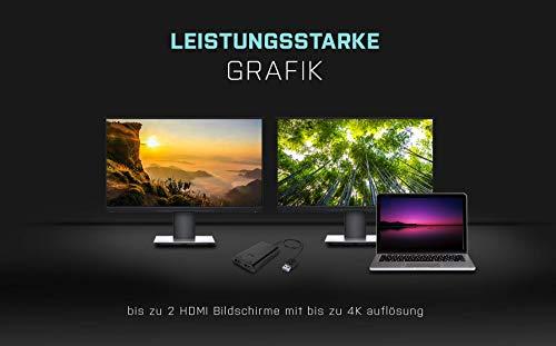i-tec USB C auf Dual HDMI Video Adapter 4K Ultra HD