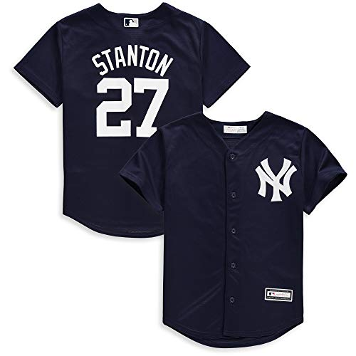 Outerstuff Giancarlo Stanton New York Yankees Infants Navy Alternate Cool Base Replica Jersey (12 Months)