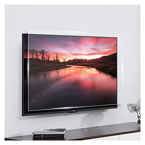 AWSAD Protector Pantalla TV, 32-75 Pulgadas Protector de Pantalla Anti Luz Azul Aliviar La Fatiga Ocular Se Adapta a Pantallas HDTV LCD/LED / 4K OLED Y QLED