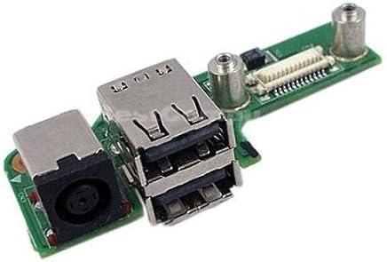 Dell Inspiron 1525 Power Jack/USB Port Board - 07533-2