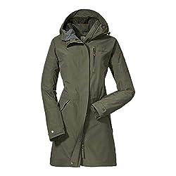 Schöffel waterproof rain jacket Friesennerz