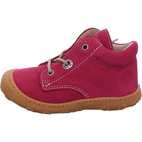 RICOSTA Mädchen Lauflern Schuhe Cory von Pepino, Weite: Weit (WMS),terracare, Kids junior Kleinkinder Kinder-Schuhe toben,pop,20 EU / 4 Child UK