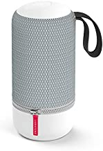 Libratone Zipp Mini 2 Portable Smart Speaker with Amazon Alexa Built-in, Voice Control, Wi-Fi & Bluetooth Connection, 75W Powerful Sound, Multi-Room Music System, 12 Hour Playtime-Frosty Grey