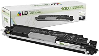 LD Remanufactured Toner Cartridge Replacement for HP 126A CE310A (Black)