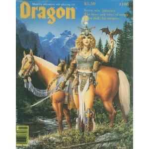 Dragon Magazine, No 106
