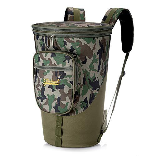 HOMDREAM Djembe Bag Zaino da 10/12/13 '' African Drum Djembe Carry Case Zaino Impermeabile Antiurto,A-13inches