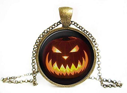 We are Forever Family Halloween Jack-o'-Lantern Anhänger, Jack-o'-Lantern Halskette, Halloween Halskette