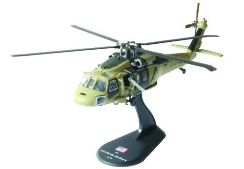 UH-60 Blackhawk diecast 1:72 helicopter model (Amercom HY-3)