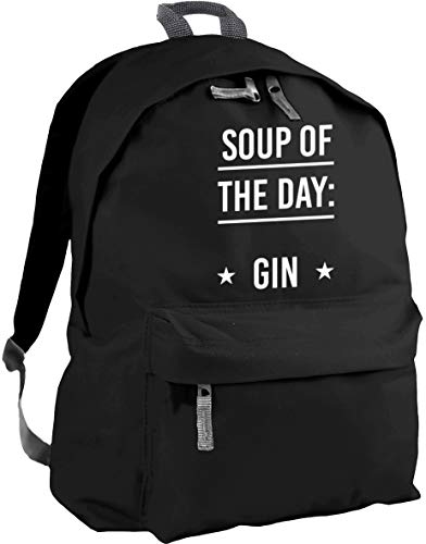 HippoWarehouse Soup of The Day Gin Backpack ruck Sack Dimensions: 31 x 42 x 21 cm Capacity: 18 litres