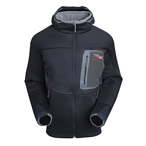 SITKA Gear Men's Hunting Traverse Cold Weather Hoody, Black, X-Large