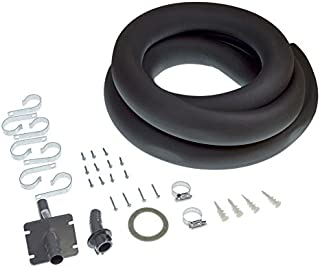 Honeywell Kit containing parts to remotely install steam humidifier. Includes hose. - Black and white - 50024917-001/U 50024917-001-1