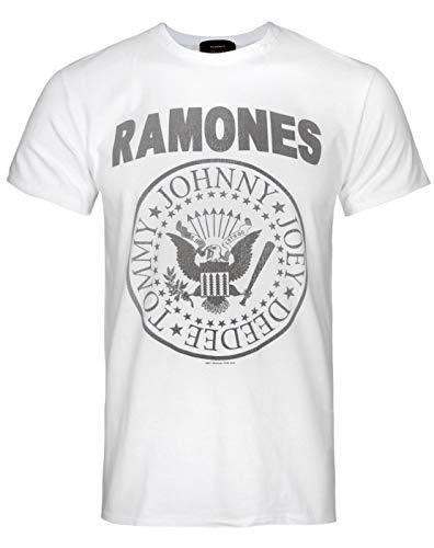 Hombres - Amplified Clothing - Ramones - Camiseta (XXL)