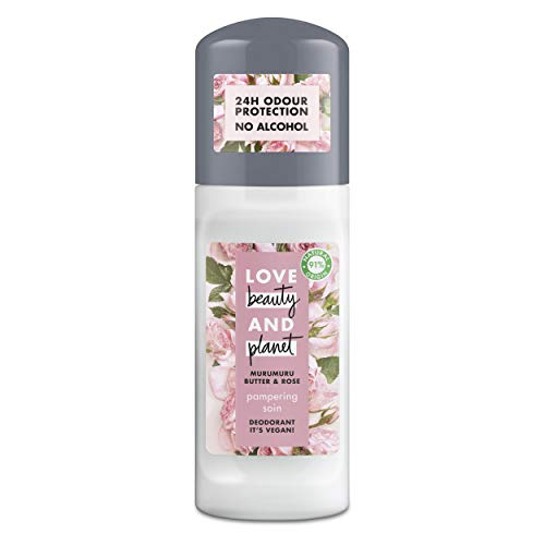 Love Beauty and Planet Pampering, deodorant, 3 x 50 ml (totaal: 150 ml)