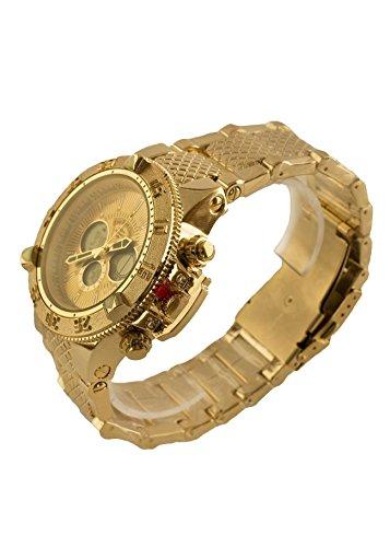 Reloj Eve Mon Crois Vestir Dorado