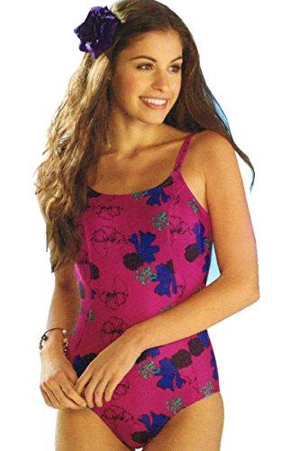 Esmara® Badeanzug Floral - Lila (42)