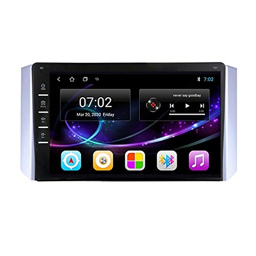 MGYQ Android Car Navigation Stereo with Rear Camera - Car Entertainment Multimedia Radio, for Mitsubishi Xpander 2017-2020 Support SD Wifi/BT Tethering Internet FM 1080P Video,Octa core,4G WiFi 2+32