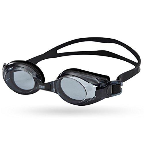 CL& Nuoto vetri HD Anti-Appannamento Impermeabile Pingguang Comodo impianto di Nuoto per Adulti Occhiali da Nuoto (Colore : Nero)