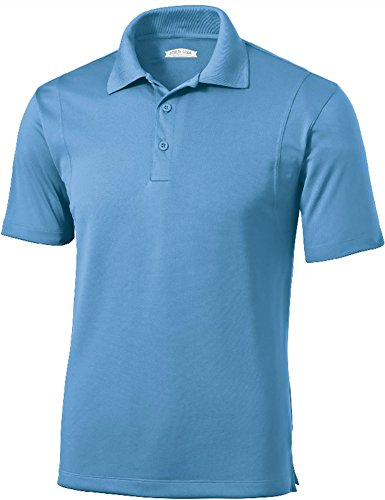 Mens Moisture Wicking Tall Golf Polos - Assorted Colors-4XLT
