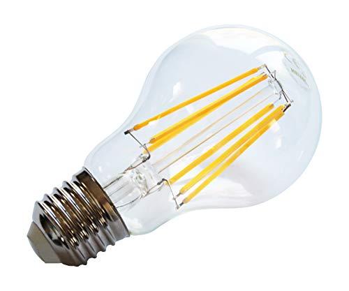 Heitronic - Bombilla LED (6 W, aluminio), color blanco cálido