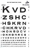 Snellen Type Plastic Eye Chart - 10'...