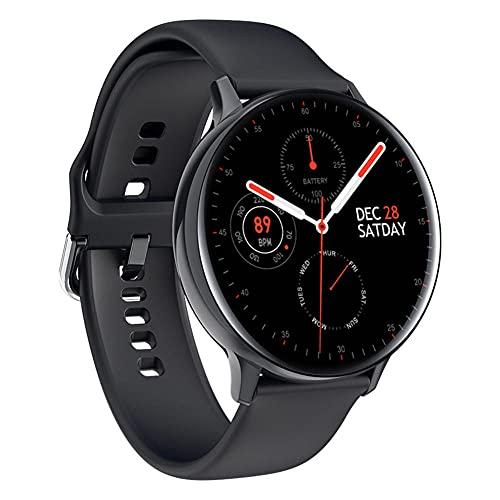 S30 Full Circle Full Touch Smart Watch Hombres ECG Monitoreo de temperatura corporal SMS Recordatorio Larga espera para Samsung F Classic-C