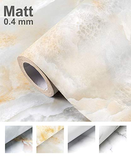 thick waterproof PVC vinyl roll paper removable drawers decorative self-adhesive wallpaper cabinets Marble contact paper 24 x 78.7 granite appearance furniture used for kitchen countertops