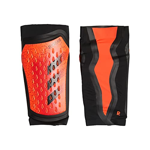 adidas PRED SG Pro Shin Guards, Unisex-Adult, Solar Red/Black/Red, Large