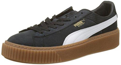 PUMA, Basket Platform Perf Gum Sneakers voor dames