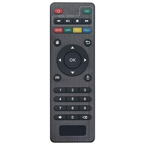 VINABTY X96 Mini Mando a distancia de repuesto para Network player box X96 Mini Remote X96 S905W Replace Remote Control for MXQ Pro 4K, T95M, T95N, T95X, MX9, H96, H96 pro+ Android TV Box for Kodi Box