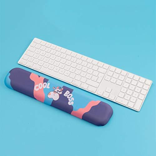 Reposamuñecas Corgi Bulldog Husky peluche Diseño de espuma viscoelástica resto de la mano del teclado de muñeca del cojín cómodo del gel de silicona alfombrilla de ratón Almohadilla de Ratón
