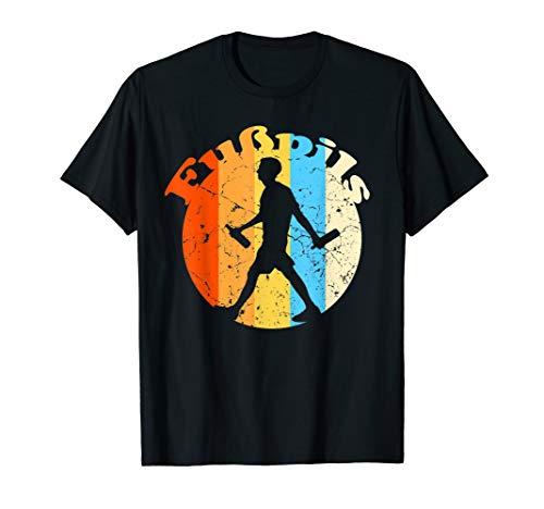 Lustiges Fußpils T-Shirt Bier Retro